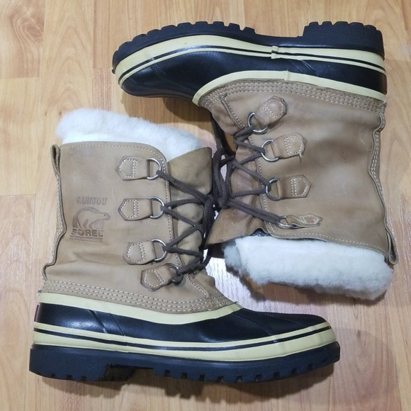 b4f9ef6f5a3433 SALE Real Sorel Caribou snow boots good condition.  M_5b99cb4045c8b3fb13317780